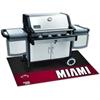 """FANMATS NBA - Miami Heat Grill Mat 26""""x42"""""""