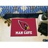 """FANMATS NFL - Arizona Cardinals Man Cave Starter Rug 19""""x30"""""""