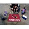 FANMATS NFL - Arizona Cardinals Man Cave Tailgater Rug 5'x6'