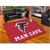 """FANMATS NFL - Atlanta Falcons Man Cave All-Star Mat 33.75""""x42.5"""""""