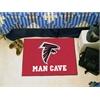 "FANMATS NFL - Atlanta Falcons Man Cave Starter Rug 19""x30"""