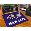 "FANMATS NFL - Baltimore Ravens Man Cave All-Star Mat 33.75""x42.5"""