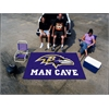 FANMATS NFL - Baltimore Ravens Man Cave UltiMat Rug 5'x8'