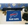 "FANMATS NFL - Buffalo Bills Man Cave Starter Rug 19""x30"""