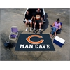FANMATS NFL - Chicago Bears Man Cave UltiMat Rug 5'x8'
