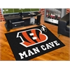 """FANMATS NFL - Cincinnati Bengals Man Cave All-Star Mat 33.75""""x42.5"""""""
