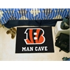 "FANMATS NFL - Cincinnati Bengals Man Cave Starter Rug 19""x30"""