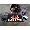 FANMATS NFL - Cincinnati Bengals Man Cave UltiMat Rug 5'x8'