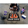 FANMATS NFL - Cincinnati Bengals Man Cave Tailgater Rug 5'x6'