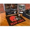 "FANMATS NFL - Cleveland Browns Man Cave All-Star Mat 33.75""x42.5"""