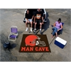 FANMATS NFL - Cleveland Browns Man Cave Tailgater Rug 5'x6'