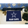 "FANMATS NFL - Dallas Cowboys Man Cave Starter Rug 19""x30"""