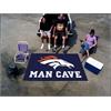 FANMATS NFL - Denver Broncos Man Cave UltiMat Rug 5'x8'