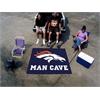 FANMATS NFL - Denver Broncos Man Cave Tailgater Rug 5'x6'