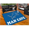 "FANMATS NFL - Detroit Lions Man Cave All-Star Mat 33.75""x42.5"""