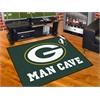 "FANMATS NFL - Green Bay Packers Man Cave All-Star Mat 33.75""x42.5"""