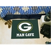 "FANMATS NFL - Green Bay Packers Man Cave Starter Rug 19""x30"""