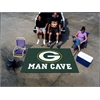 FANMATS NFL - Green Bay Packers Man Cave UltiMat Rug 5'x8'