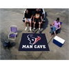 FANMATS NFL - Houston Texans Man Cave Tailgater Rug 5'x6'