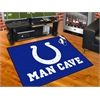 "FANMATS NFL - Indianapolis Colts Man Cave All-Star Mat 33.75""x42.5"""