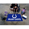 FANMATS NFL - Indianapolis Colts Man Cave UltiMat Rug 5'x8'