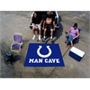 FANMATS NFL - Indianapolis Colts Man Cave Tailgater Rug 5'x6'