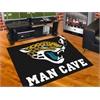"FANMATS NFL - Jacksonville Jaguars Man Cave All-Star Mat 33.75""x42.5"""
