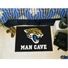 """FANMATS NFL - Jacksonville Jaguars Man Cave Starter Rug 19""""x30"""""""
