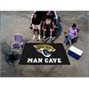 FANMATS NFL - Jacksonville Jaguars Man Cave UltiMat Rug 5'x8'