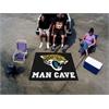 FANMATS NFL - Jacksonville Jaguars Man Cave Tailgater Rug 5'x6'