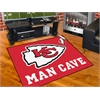 "FANMATS NFL - Kansas City Chiefs Man Cave All-Star Mat 33.75""x42.5"""