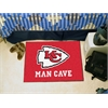 """FANMATS NFL - Kansas City Chiefs Man Cave Starter Rug 19""""x30"""""""