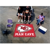 FANMATS NFL - Kansas City Chiefs Man Cave Tailgater Rug 5'x6'