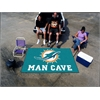 FANMATS NFL - Miami Dolphins Man Cave UltiMat Rug 5'x8'