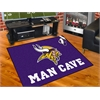 "FANMATS NFL - Minnesota Vikings Man Cave All-Star Mat 33.75""x42.5"""