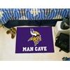 "FANMATS NFL - Minnesota Vikings Man Cave Starter Rug 19""x30"""