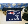 "FANMATS NFL - New England Patriots Man Cave Starter Rug 19""x30"""