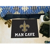 "FANMATS NFL - New Orleans Saints Man Cave Starter Rug 19""x30"""