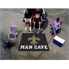 FANMATS NFL - New Orleans Saints Man Cave Tailgater Rug 5'x6'