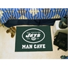 "FANMATS NFL - New York Jets Man Cave Starter Rug 19""x30"""