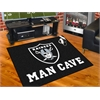 "FANMATS NFL - Oakland Raiders Man Cave All-Star Mat 33.75""x42.5"""
