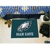 "FANMATS NFL - Philadelphia Eagles Man Cave Starter Rug 19""x30"""