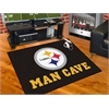"FANMATS NFL - Pittsburgh Steelers Man Cave All-Star Mat 33.75""x42.5"""