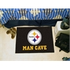 "FANMATS NFL - Pittsburgh Steelers Man Cave Starter Rug 19""x30"""