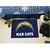 "FANMATS NFL - San Diego Chargers Man Cave Starter Rug 19""x30"""