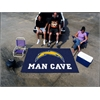 FANMATS NFL - San Diego Chargers Man Cave UltiMat Rug 5'x8'