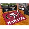 "FANMATS NFL - San Francisco 49ers Man Cave All-Star Mat 33.75""x42.5"""