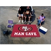 FANMATS NFL - San Francisco 49ers Man Cave UltiMat Rug 5'x8'