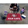 FANMATS NFL - San Francisco 49ers Man Cave UltiMat Rug 5'x8'