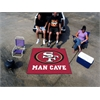 FANMATS NFL - San Francisco 49ers Man Cave Tailgater Rug 5'x6'